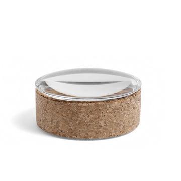 Hay - Boîte avec couvercle S Lens, , Ø 10 cm, Siège / couvercle de verre