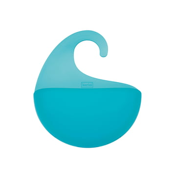 Rangement Surf XS avec anse de Koziol en turquoise transparent