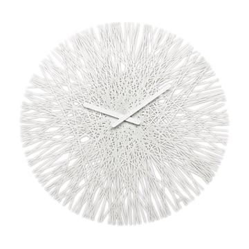 Horloge murale Silk de Koziol en blanc