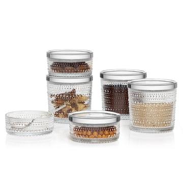 Iittala - Pots à provision Kastehelmi
