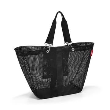 Le sac meshbag L de reisenthel en noir