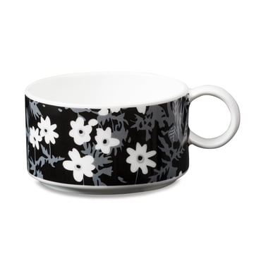 Tasse à thé en porcelaine AJ Vintage Flowers de Design Letters