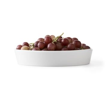 Assiette creuse Norli Ø21cm de by Lassen avec une grappe de raisin