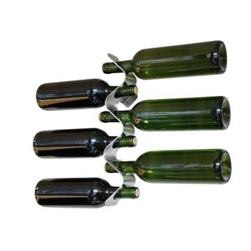 Porte-bouteilles Forminimal de Black + Blum