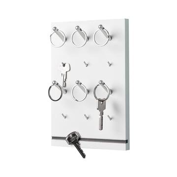 emform - Panneau à clés Pin, blanc