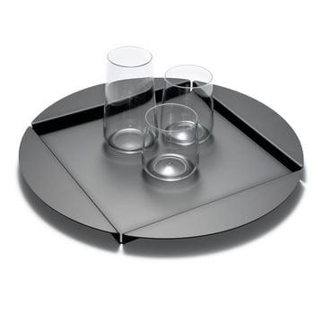 Le plateau en aluminium d'Auerberg en noir