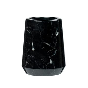 Pot verre à dents Marble me par Södahl en marbre noir