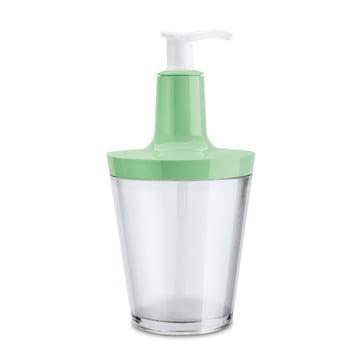 Koziol - Distributeur de savon Flow, menthe transparent