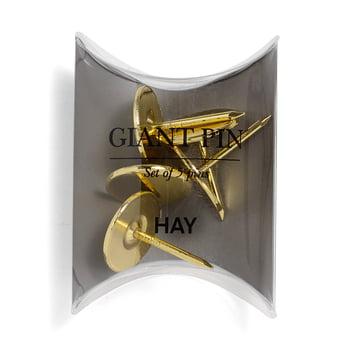 Giant Pin de Hay en doré (5pièces)