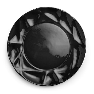 Assiette Succession Ø 26cm de Petite Friture en noir