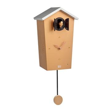 KooKoo - horloge coucou Bird House, doré (édition limitée)