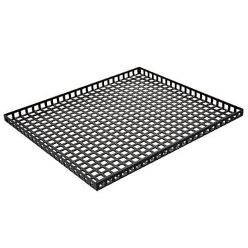 Pulpo - Tray, 35 x 30 cm, noir