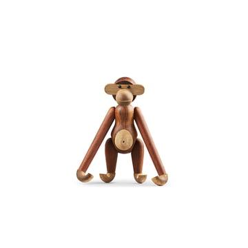 Le singe en bois mini par Kay Bojesen en bois limba et teck