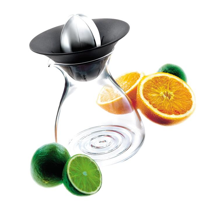 Presse-fruits avec carafe en verre de Eva Solo