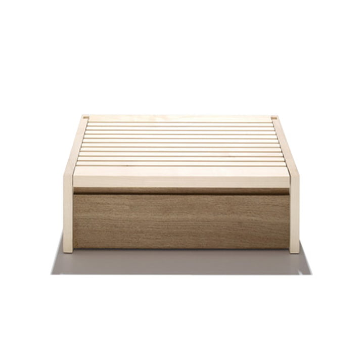 side by side - Boîte à pain en bois d'érable et de chêne