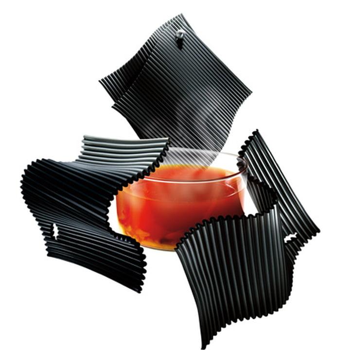 Maniques en silicone - noir