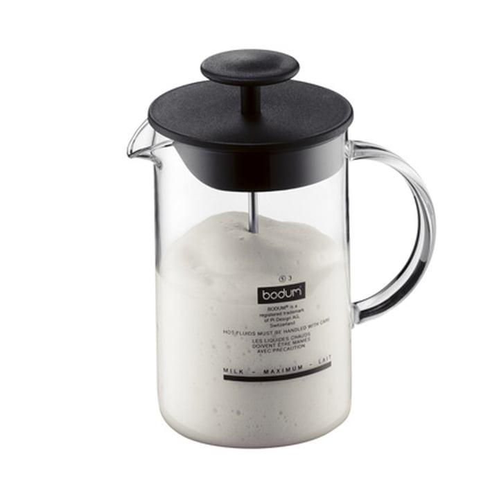 Bodum LATTEO - Mousseur à lait avec poignée en verre