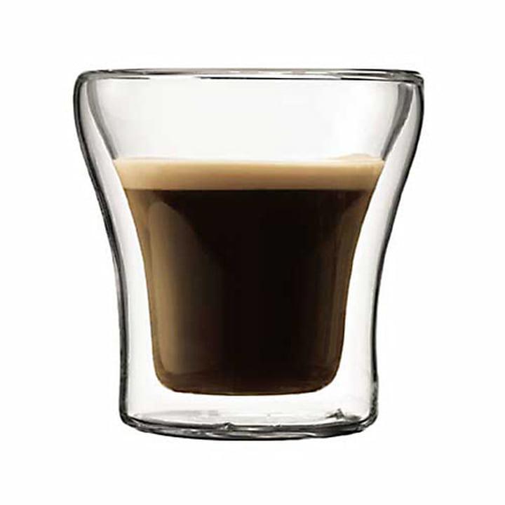 Assam de Bodum, verre à double paroi Assam 0,9dl