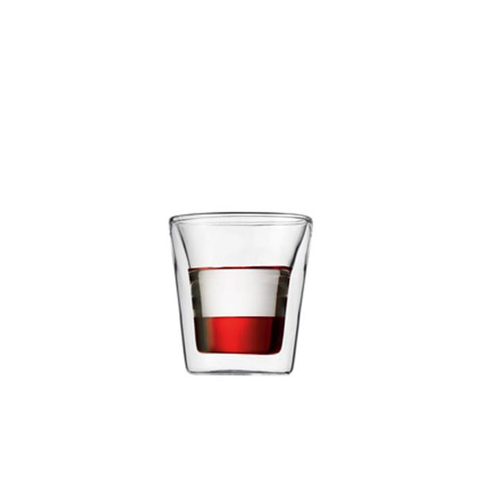 Bodum Canteen, 0,1l (set de 2 verres)