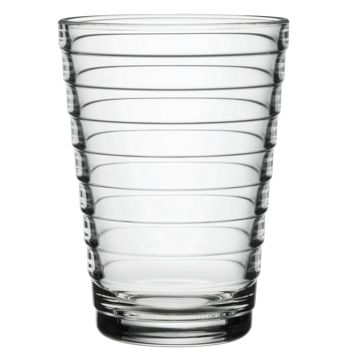 Aino Aalto verre à long drink 33 cl d'Iittala en clair