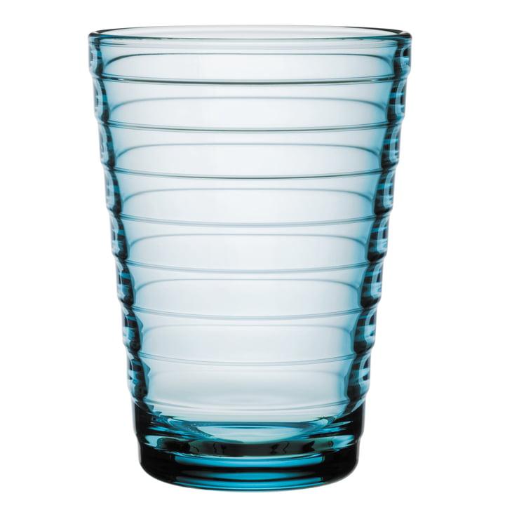Aino Aalto verre à long drink 33 cl d'Iittala en bleu clair