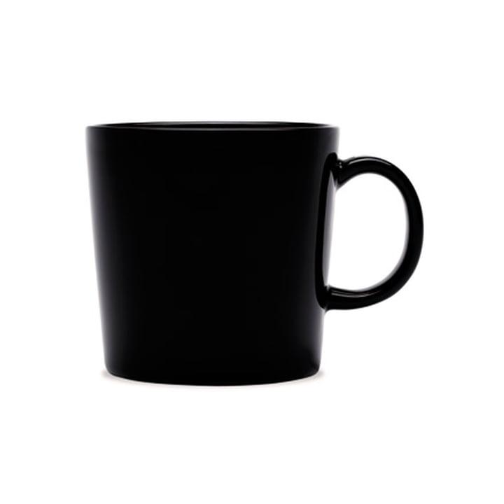 Tasse à thé avec anse 0,2 l de Iittala noir