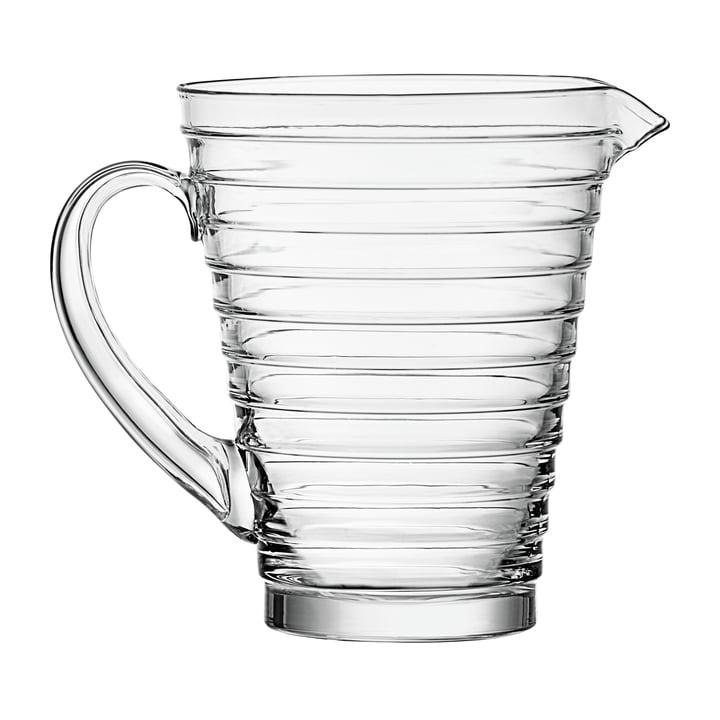 Iittala Aino Aalto cruche en verre 120 cl, clair