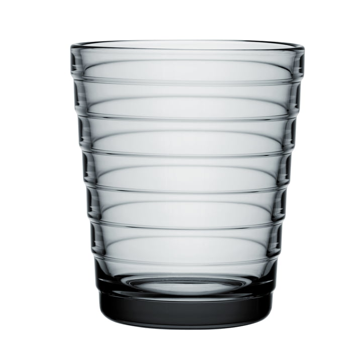 Aino Aalto Gobelet en verre 22 cl de Iittala en gris