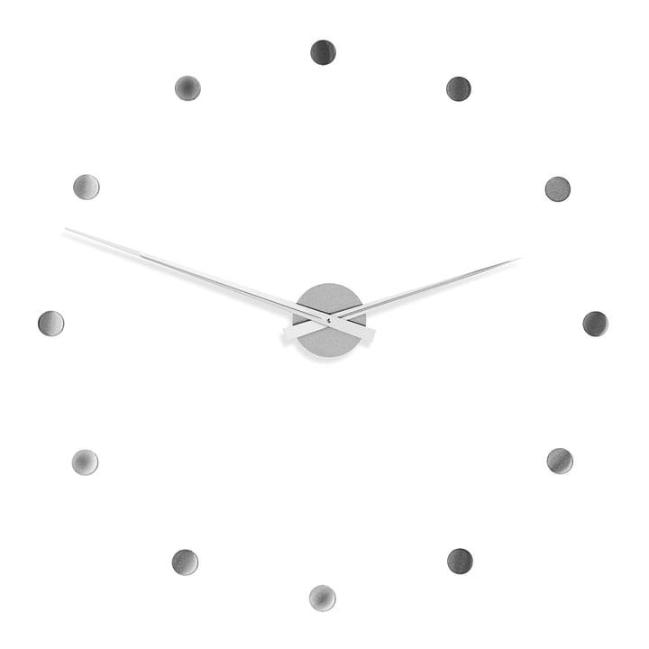 Radius Design - Horloge murale Flexible en argent