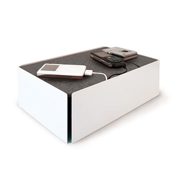Charge-Box -blanc / gris