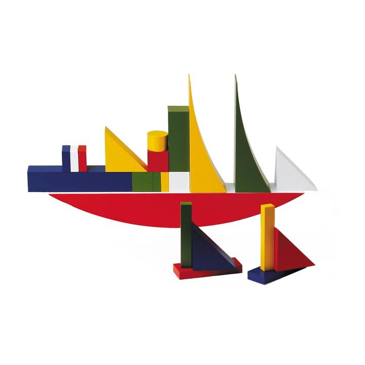 Jeu de construction Bauhaus Naef (22pièces)