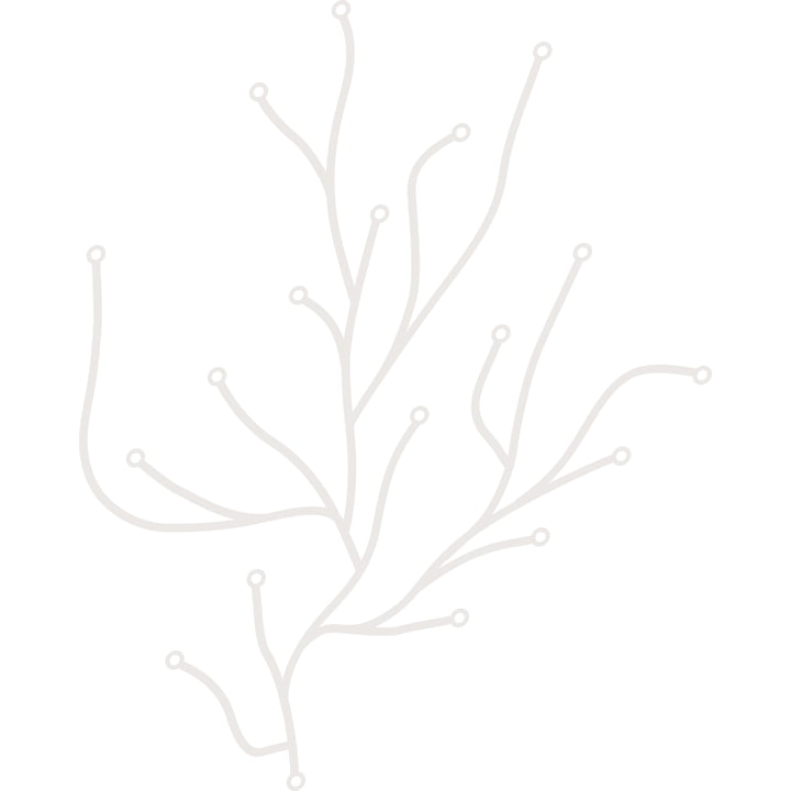 Vitra Algue blanc