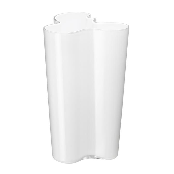 Vase Aalto Finlandia 251 mm de Iittala en blanc