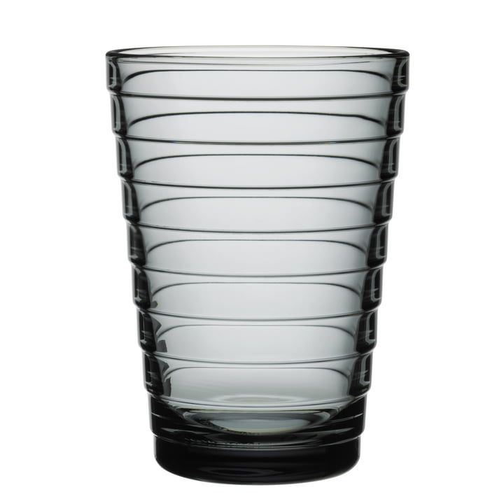 Aino Aalto verre à long drink 33 cl d'Iittala en gris