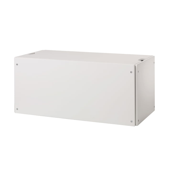 Coffre à lit modulaire pour couchette empilable