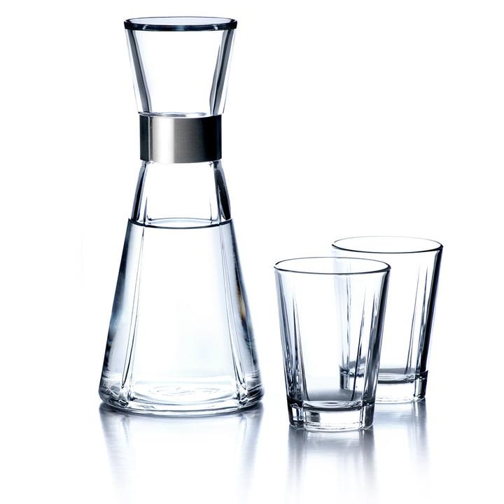 Carafe à eau Grand Cru avec 2 verres à eau de Rosendahl