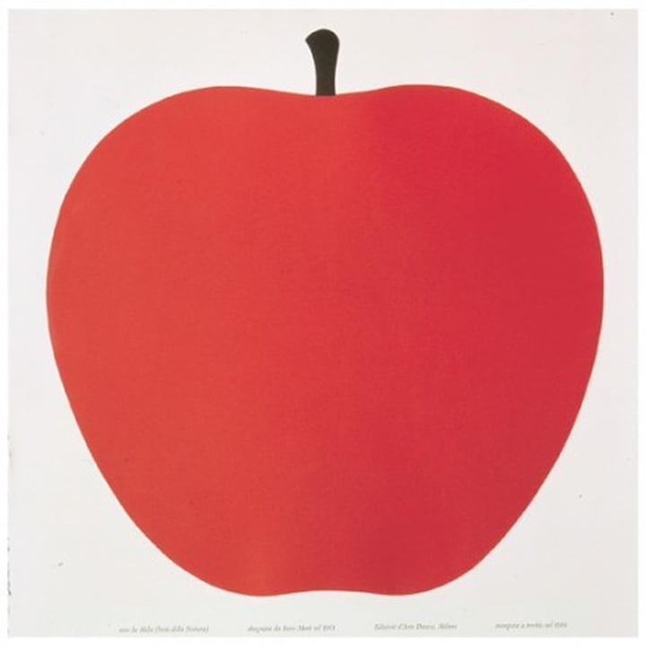 Danese - Poster « Uno, la mela »