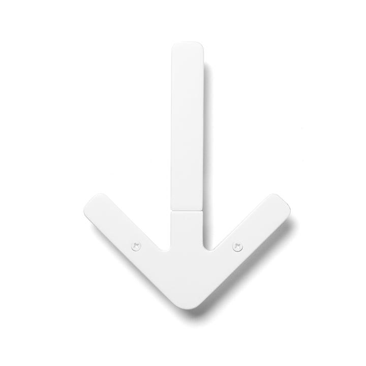 Patère Arrow Hanger, blanc