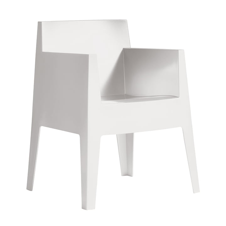 Fauteuil jouet Driade en blanc (B1)