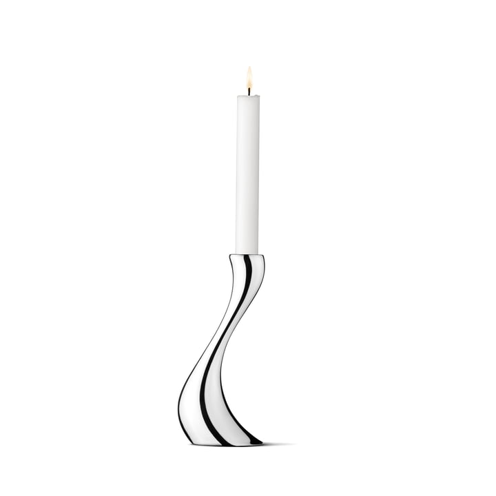 Georg Jensen - Cobra Bougeoir, 20 cm