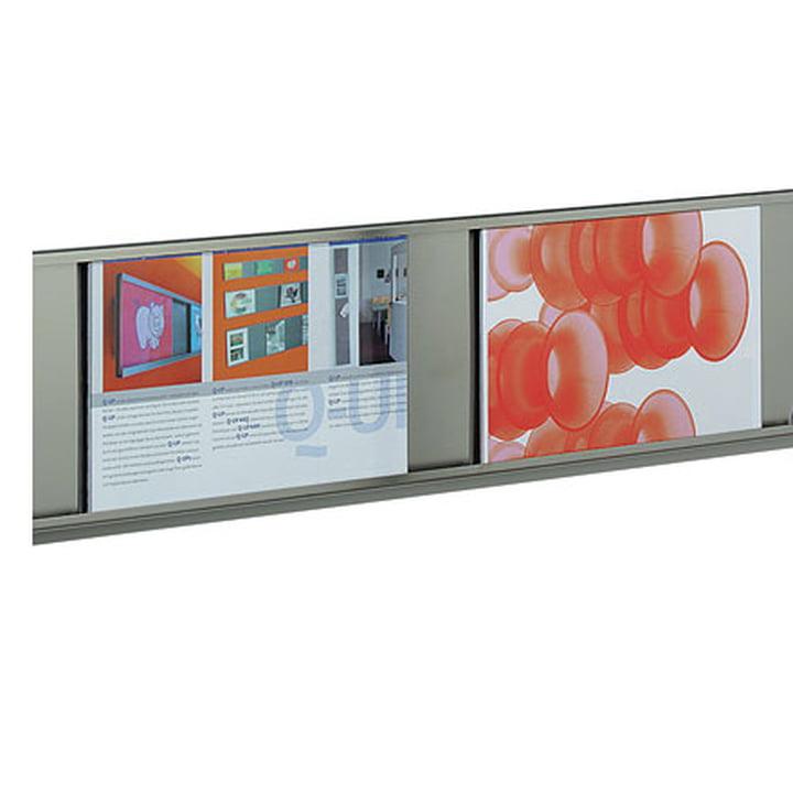 Q-Up 1318 - Presentation system incl. 3 frames