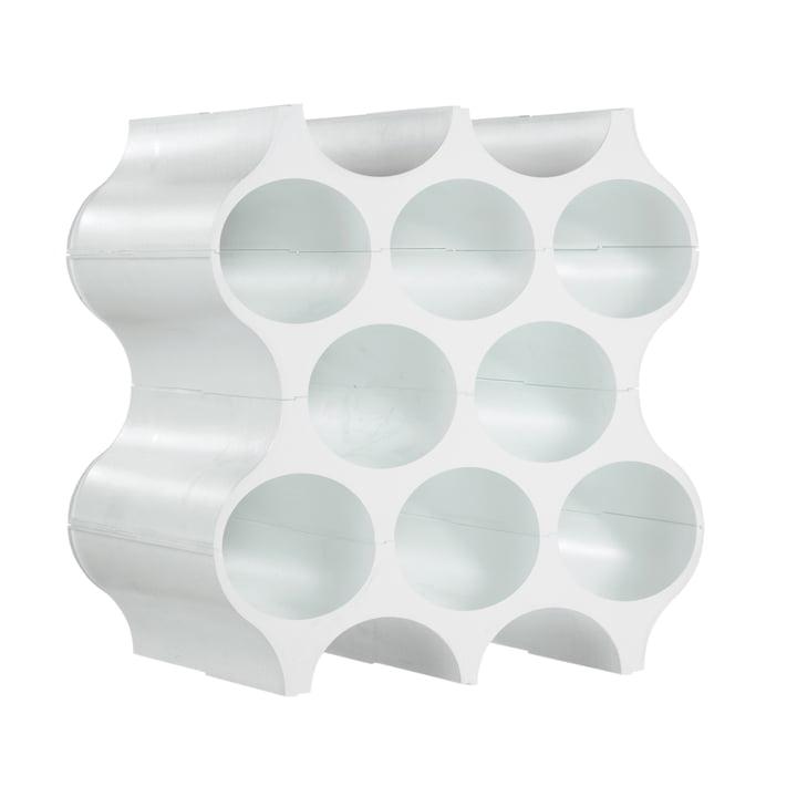 Casier à bouteilles Set-Up - solide blanc