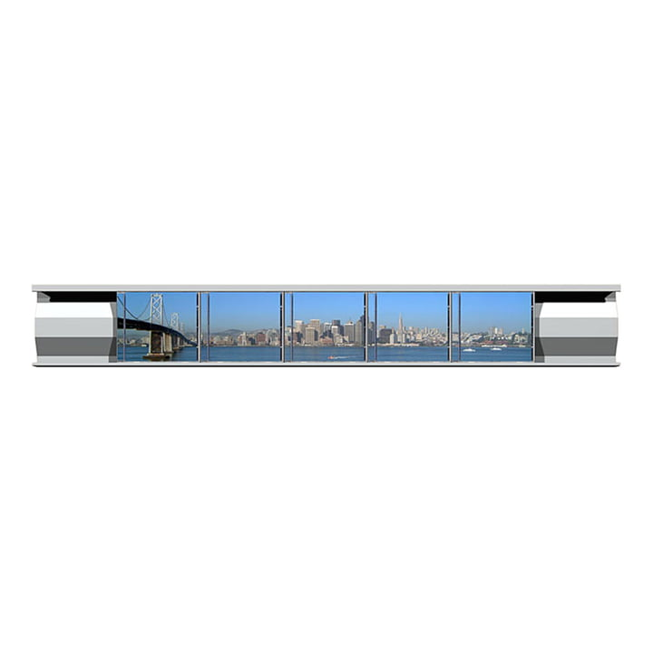 Lowkon - Sigmarail Rail étagère Aluminium CD (SR7) - rail unique