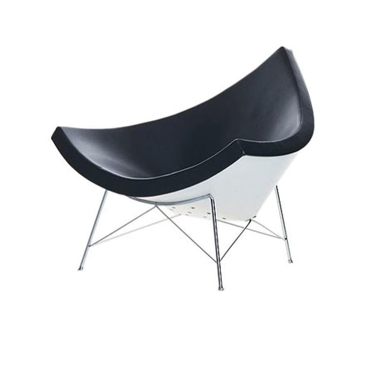 Coconut Chair - tissu Hopsak noir