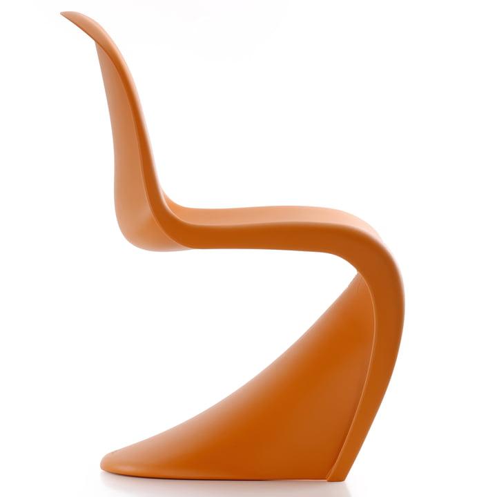 Chaise Panton par Vitra en mandarine