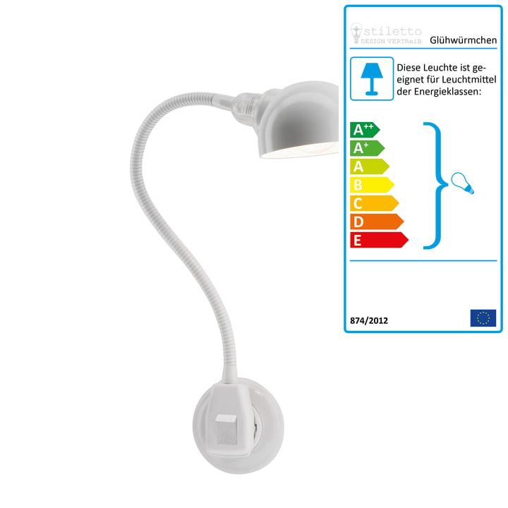 Stiletto - Luciole Standard avec réflecteur hémisphérique, blanc