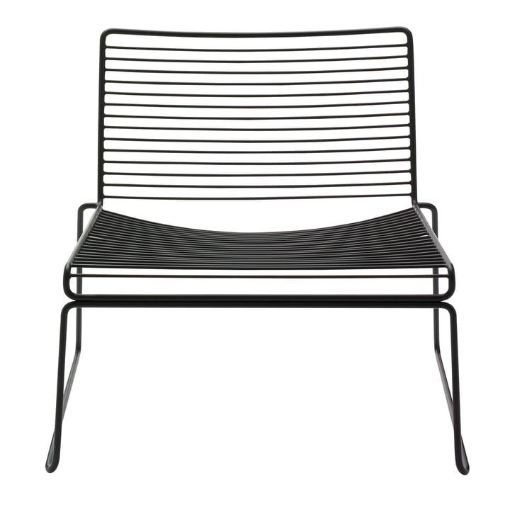Hee Lounge Chair de Hay en noir