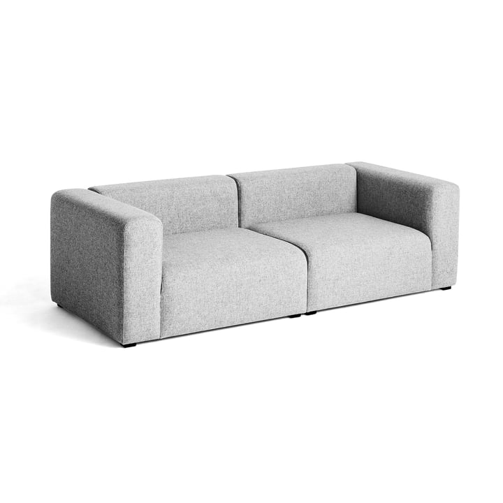 Hay - Canapé Mags, 2,5 places, gris clair