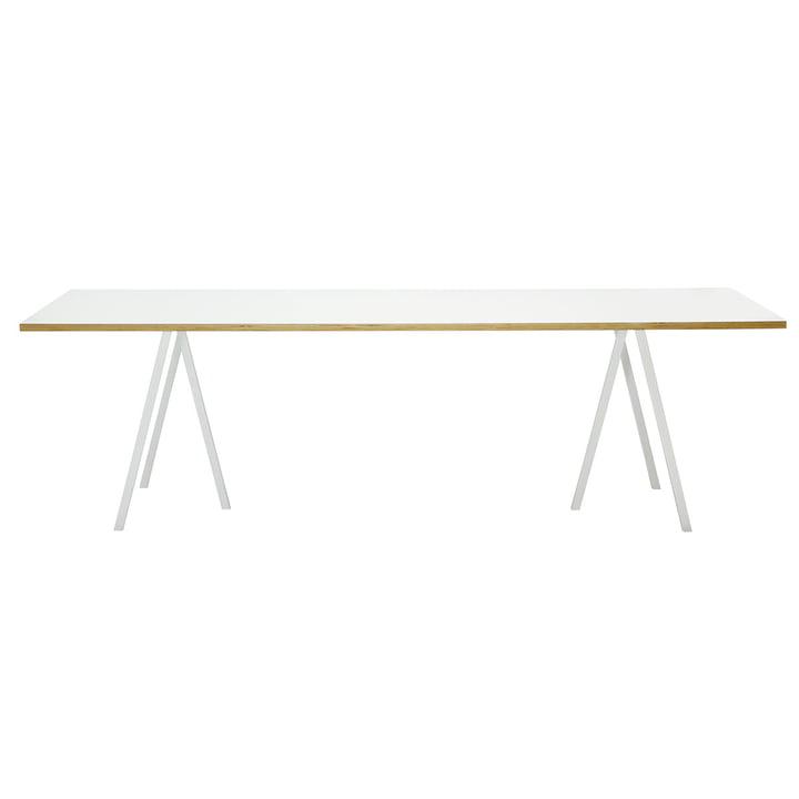 Hay Loop Stand Table, blanc