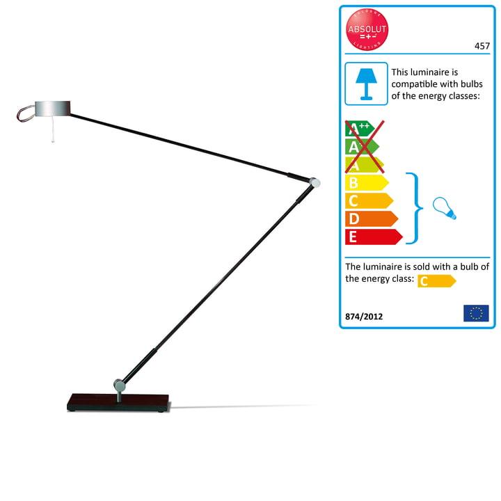Absolut Lighting - Lampe de bureau, pied de table, 50 W